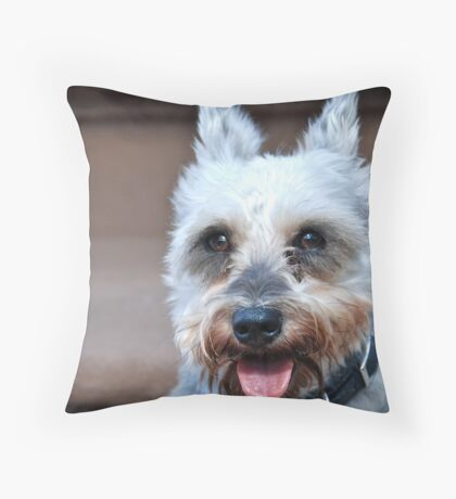 LUCY, 'my' Lucy Throw Pillow