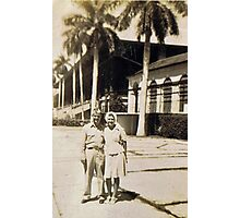 Miami, Florida Honeymoon 1945 Photographic Print