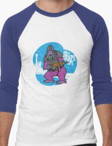 Damn Dirty Grape Ape! Men's Baseball ¾ T-Shirt
