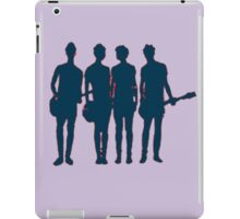 5 seconds of summer silhouette iPad Case/Skin