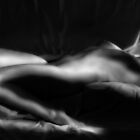 Light Painted Nude - Reclining by melmoth