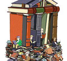 Bibliophiles by MacKaycartoons