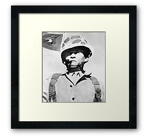"General Lewis ""Chesty"" Puller Framed Print"