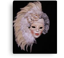 Ceramic Mask Canvas Print