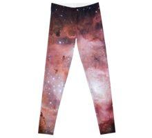 Lagoon Nebula Spread Leggings