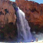 Havasu Falls Panoramic by BoddyHiker