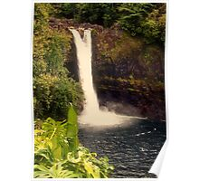 Rainbow Falls - Hilo, Hawaii Poster