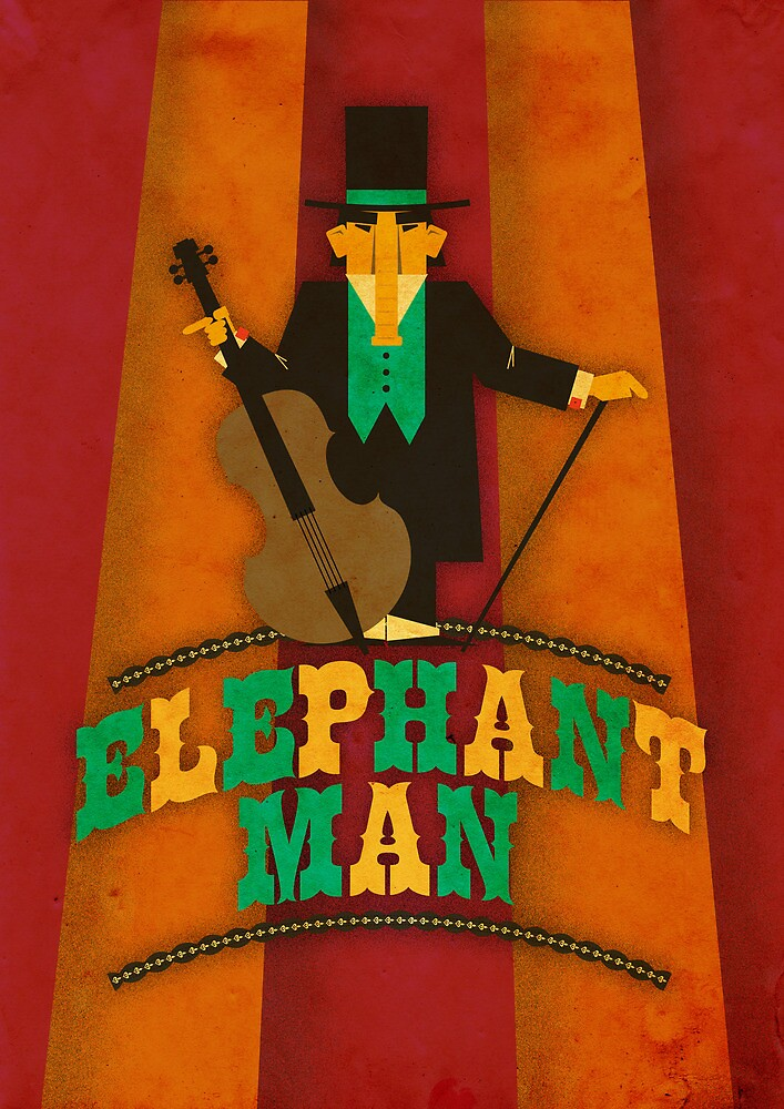 Elephant Man by Marco Recuero