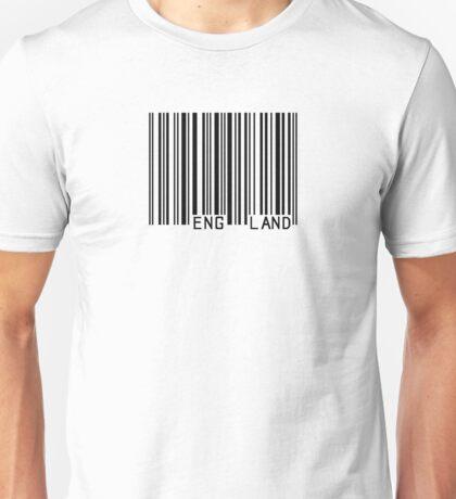 Barcode England Unisex T-Shirt