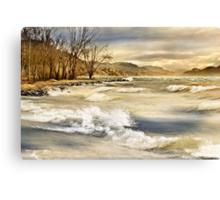 Perfect, storm! Canvas Print