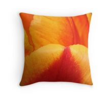 Vibrant Petals Throw Pillow
