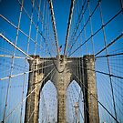 Brooklyn Bridge, New York by Robin Whalley