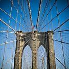 Brooklyn Bridge, New York by Robin Whalley