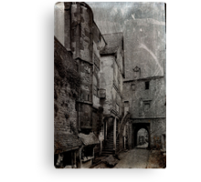 Grunge Alley Canvas Print