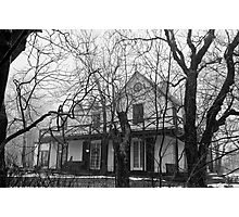 Ye Old Haunted House Photographic Print