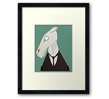 Brook Horse Framed Print