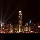 Hong Kong Lights by Drew Walker