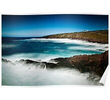 Windy Day - Cape Spear, Newfoundland Poster
