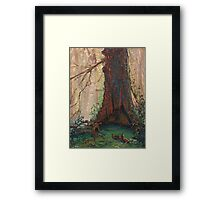 Bloodtree from a daydream Framed Print