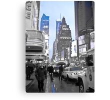 New York in Blue Canvas Print
