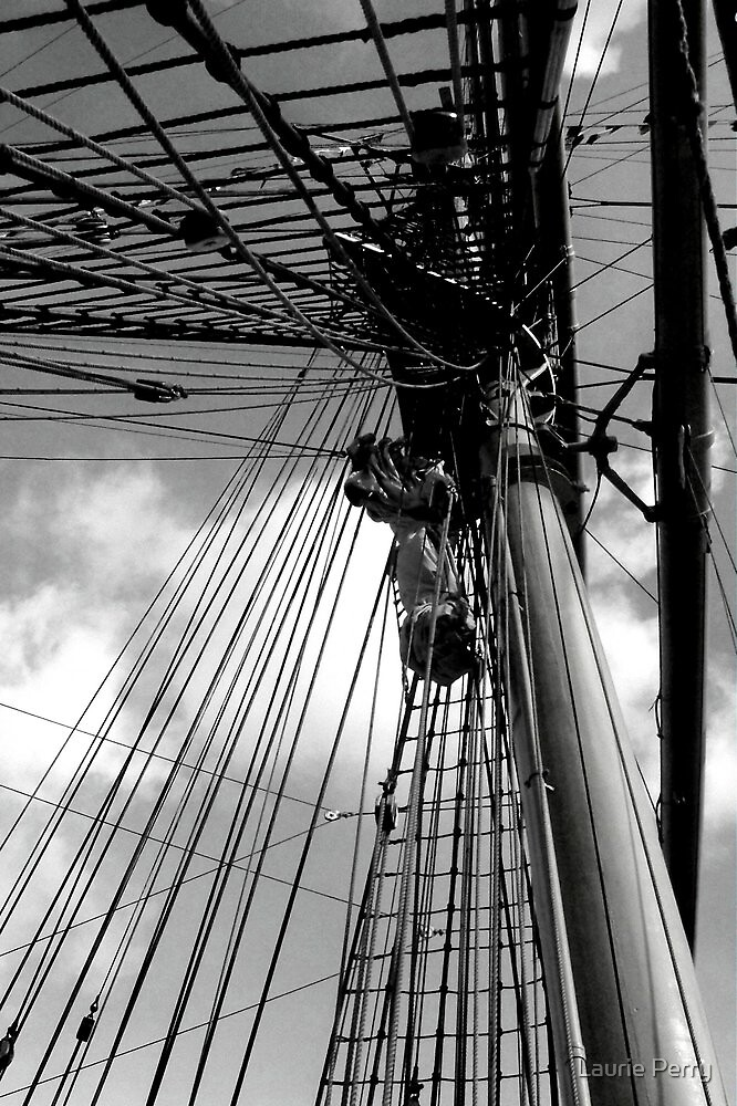 Captain Miranda's Mast by Laurie Perry