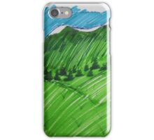 Green as the Hills iPhone Case/Skin