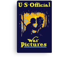 U.S. Official War Pictures -- WWI Canvas Print