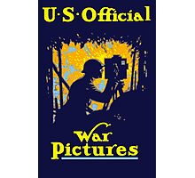 U.S. Official War Pictures -- WWI Photographic Print