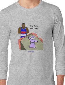 Gandalf versus the Balrog Long Sleeve T-Shirt