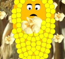 Global Warming Scares the Corn Sticker