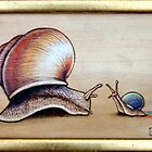 Snails Two by Fay Helfer