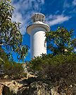 Cape Tourville Lighthouse at Freycinet by Yukondick
