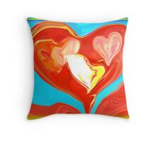 All for one and all for Love Throw Pillow