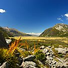 New Zealand&#x27;s Hooker Valley View by 104paul