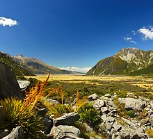 New Zealand's Hooker Valley View by 104paul