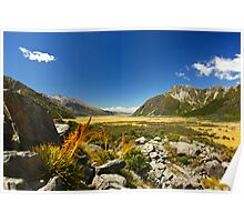 New Zealand's Hooker Valley View Poster