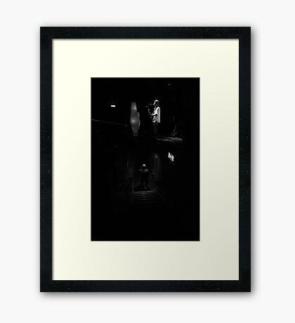 Grant Hart & Fan Framed Print