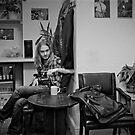 Matt, backstage by Laurent Hunziker