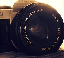 Vintage Canon Camera by Christina Hulette