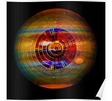 Jupiter Disc Poster