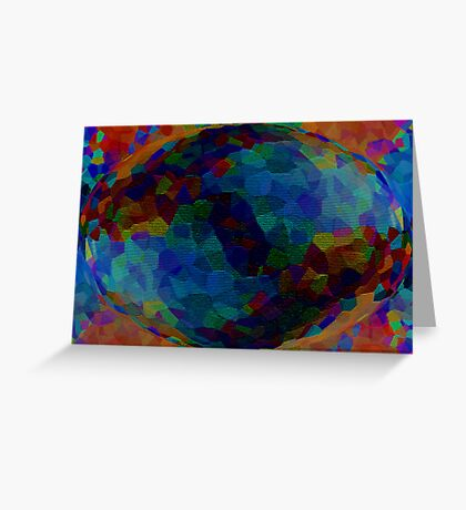 The happy colours of the World ~ 01 Greeting Card