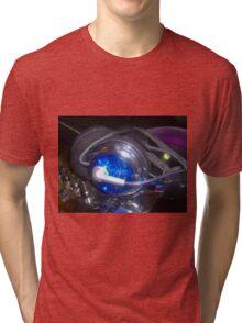 Blue dj set Tri-blend T-Shirt