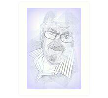 Memories of a Wonderful Man, My Dad.  Art Print
