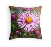 You're special (for Terrie Taylor) Throw Pillow