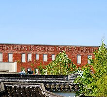 Everything is going to be alright by Kathryn  Young