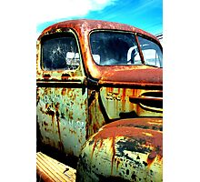 """SEEN BETTER DAYS"" Photographic Print"