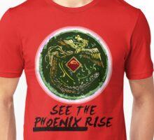 """See the Phoenix Rise"" Phoenix Mirror Unisex T-Shirt"