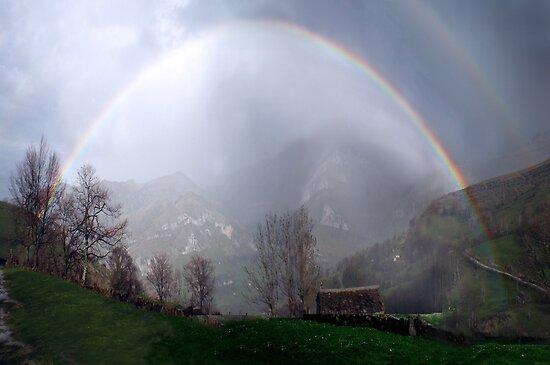 Compressed rainbow by Dulcina
