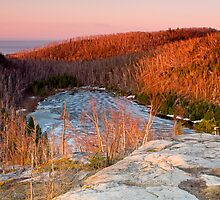 Sunrise On Wolf Lake by GaryColvard