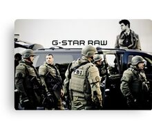 G-Star Raw Canvas Print